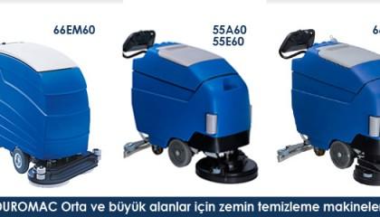 DUROMAC Orta ve Büyük Alanlar İçin Temizlik Makinesi