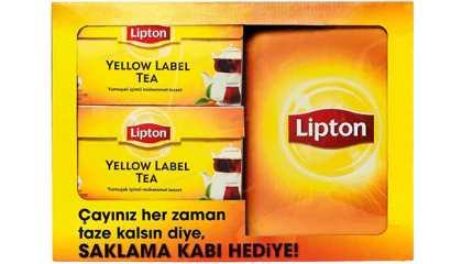 Lipton Saklama Kabı Çayınız Taze kalsın