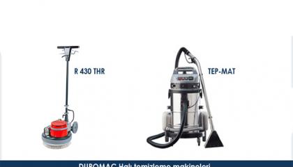 Duromac Halı Temizleme Makineleri